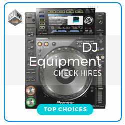 hire dj gear london