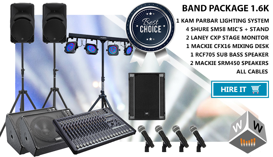 band gear hire london