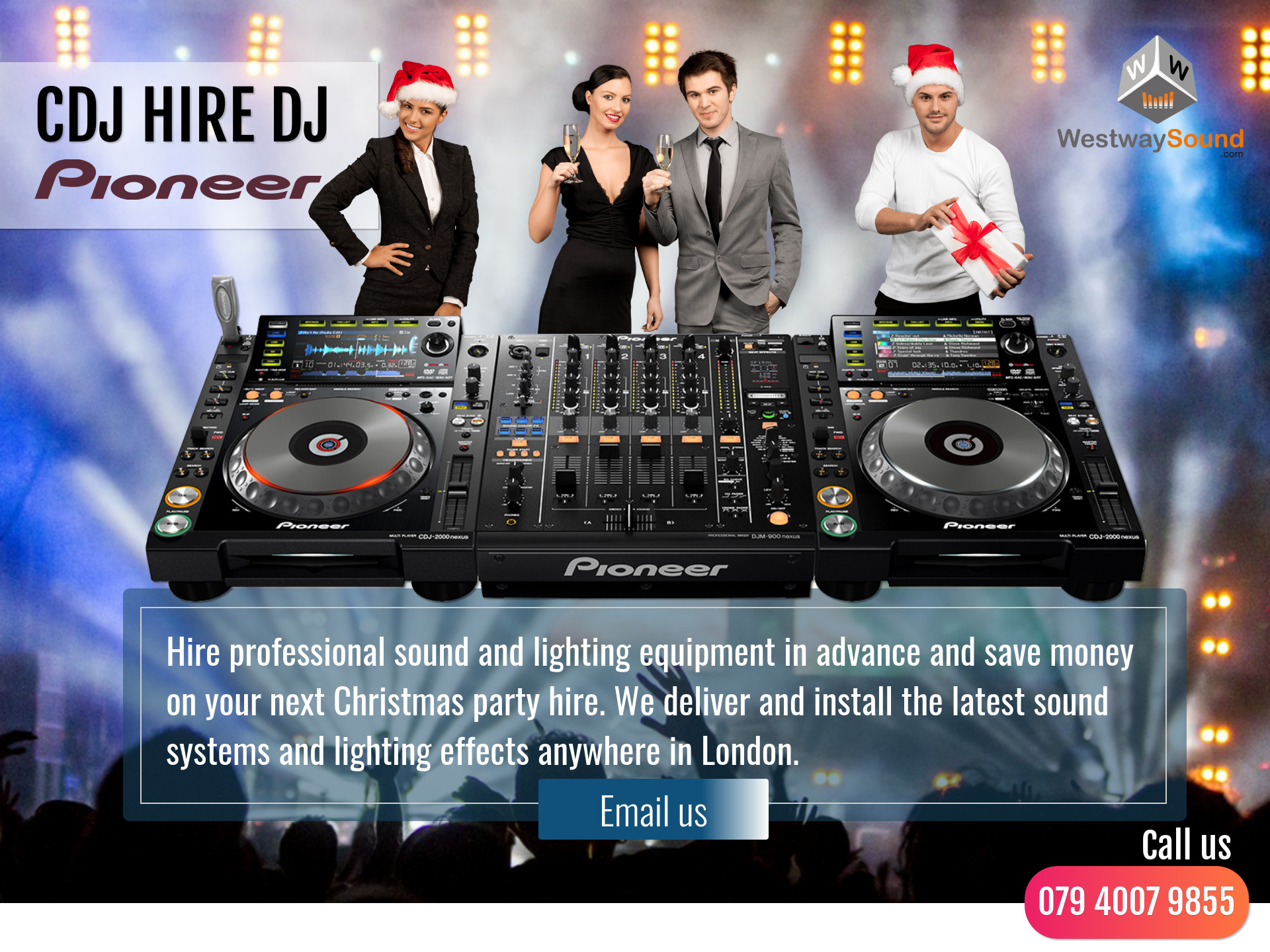 christmas party hire