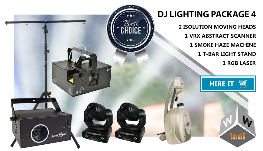 dj lights hire london