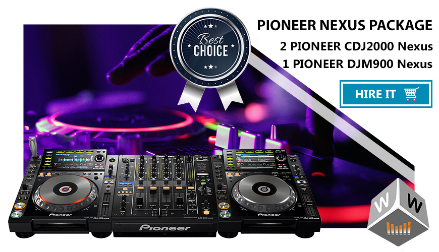 pioneer nexus hire london