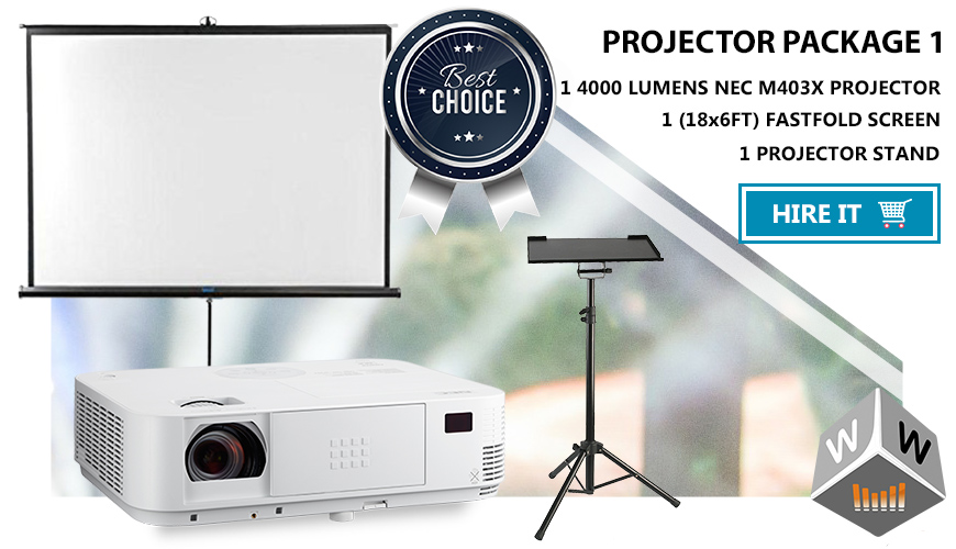 casio projector package