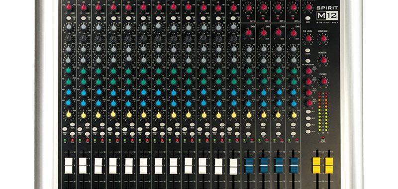 pa mixer audio hire