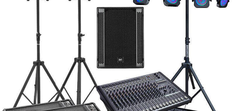 band equipment hire online