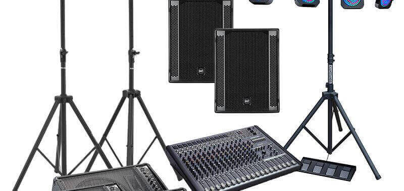band gear cheap hire london