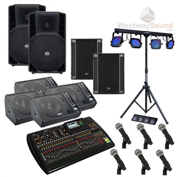 Band PA Hire in London - Speakers, Lighting, Band Equipment
