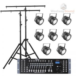 Stage Lighting Package (8 Halogen Lamps)