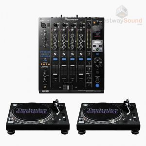 Technics 1210 Turntable Package + DJM900 Serato