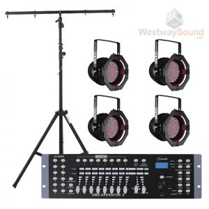 Stage Lighting Package 4 LED