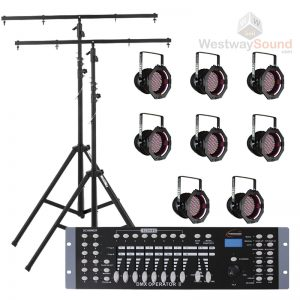 Stage Lighting Package 8 LED