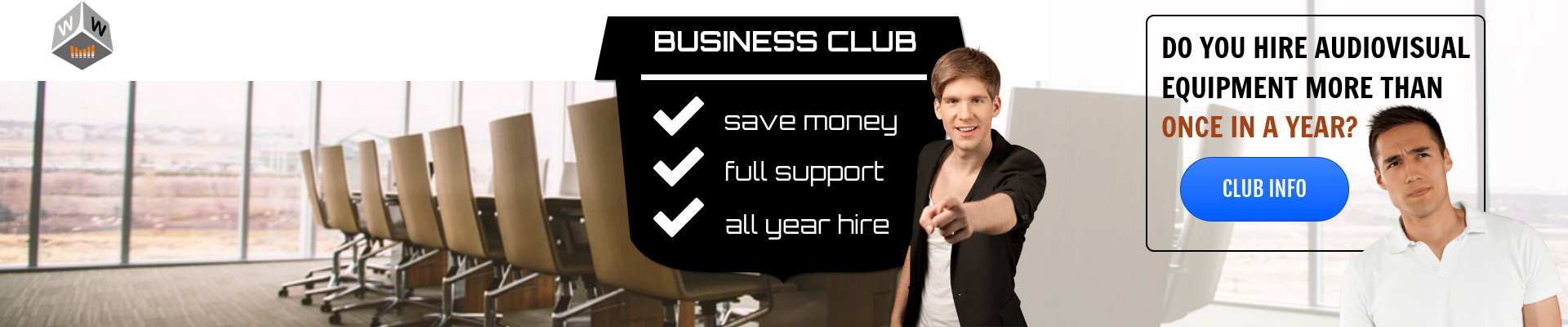 business club speaker hire